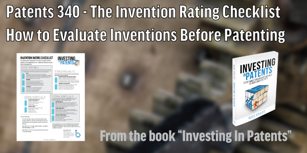 Patents-340-Invention-Checklist-Course